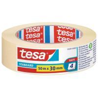 Maskovací páska STANDARD TESA smetanová 50m x 30mm
