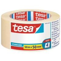 Maskovací páska STANDARD TESA smetanová 50m x 50mm