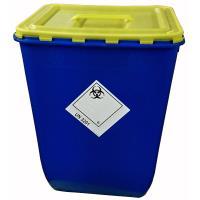 Nádoba na nemocniční odpad Klinik box 50 l - víko s úchopem a otvorem