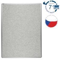 Nástěnka textilní EkoTAB šedá 60 x 90 cm