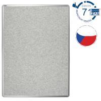 Nástěnka textilní EkoTAB šedá 75 x 100 cm