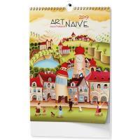 Nástěnný kalendář A3 - Art Naive - Sylva Prchlíková 2018