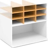 Nika kancelářské skříně řady EXPRESS 34,1 x 76,6 x 53 cm