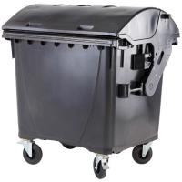 Odpadkový kontejner 1100l černý