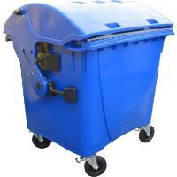 Odpadkový kontejner 1100l modrý