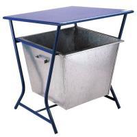 Odpadkový koš 80l modrý