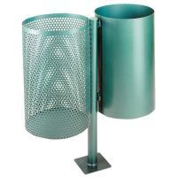 Odpadkový koš kovový 2x30 l