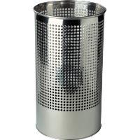 Odpadkový koš kovový nerezový děrovaný