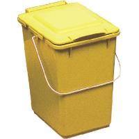 Odpadkový koš na tříděný odpad KSB 10 - Kliko žlutý