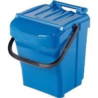 Odpadkový koš plastový Urba plus 40l modrý