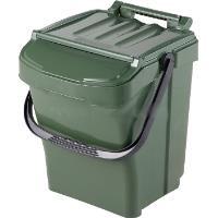 Odpadkový koš plastový Urba plus 40l zelený