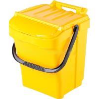 Odpadkový koš plastový Urba plus 40l žlutý
