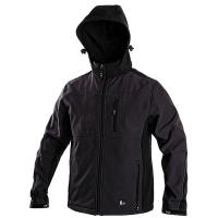 Pánská softshellová bunda FRANCISCO šedo-černá vel. XXXL