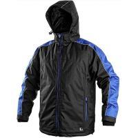 Pánská zimní bunda Canis BRIGHTON, černo-modrá, velikost XXXL
