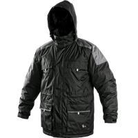 Pánská zimní bunda FREMONT černo-šedá velikost S