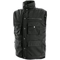 Pánská zimní vesta Canis DENVER černá, vel. XL