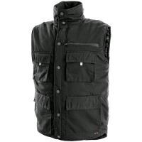 Pánská zimní vesta DENVER, černá, vel. M-XXXL