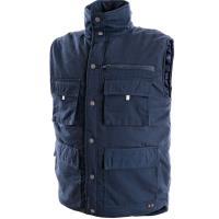 Pánská zimní vesta DENVER tmavě modrá, vel. XL