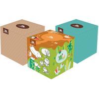 Papírové kapesníky v krabici Harmony cube box 60ks