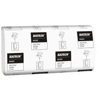 Papírové ručníky skládané jednovrstvé Katrin ZZ 5000 ks bílé