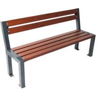 Parková kovová lavička Trend
