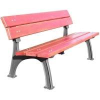 Parková litinová lavička Rustika