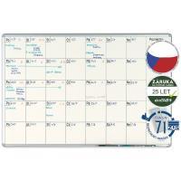Plánovací keramická tabule PK K EkoTAB 70 x 100 cm - měsíční