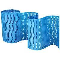 Plastová rohož Soft step protiskuzlová, 600mm x metráž světle modrá