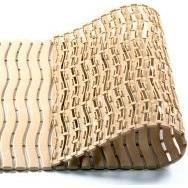 Plastová rohož Soft step protiskuzlová, 600x900 mm béžová