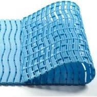 Plastová rohož Soft step protiskuzlová, 600x900 mm světle modrá