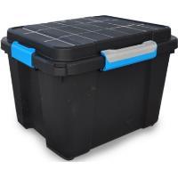 Plastový box KIS Scuba Box M s víkem 45l, černý