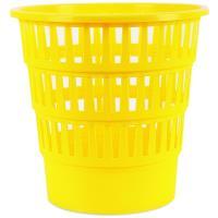 Plastový odpadkový koš DONAU perforovaný 16l žlutý