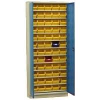 Plechová skříň A92 na plastové zásobníky
