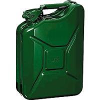 Plechový kanystr 10l na PHM zelený