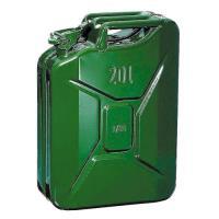 Plechový kanystr 20l na PHM zelený