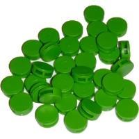 Plomba plastová zelená průměr 12 mm 1000 ks