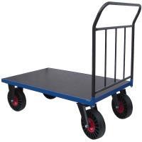 Plošinový vozík A s nepropíchnutelnými koly, typ 52812.07