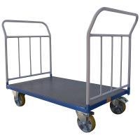 Plošinový vozík B s koly pro lité podlahy, typ 52612.04