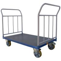 Plošinový vozík B s koly pro lité podlahy, typ 52812.04