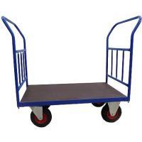 Plošinový vozík B s koly pro nerovné povrchy, nosnost 300 kg