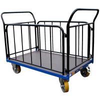 Plošinový vozík C s koly pro lité podlahy, typ 52812.44