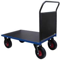 Plošinový vozík D s nepropíchnutelnými koly, typ 52612.37