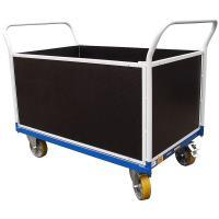 Plošinový vozík F s koly pro lité podlahy, typ 52812.74