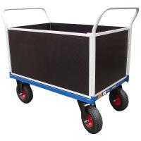 Plošinový vozík F s koly pro nerovné povrchy, typ 52812.72