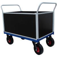Plošinový vozík F s nepropíchnutelnými koly, typ 52812.73
