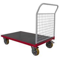 Plošinový vozík G s koly pro lité podlahy, typ 52712.23