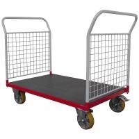 Plošinový vozík H s koly pro lité podlahy, typ 52608.24