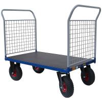 Plošinový vozík H s koly pro nerovné povrchy, typ 52813.26