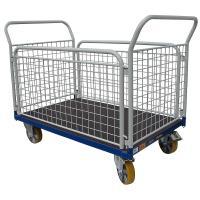 Plošinový vozík I s koly pro lité podlahy, typ 52812.64