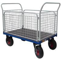 Plošinový vozík I s koly pro nerovné povrchy, typ 52812.62